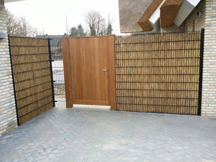 houten looppoort